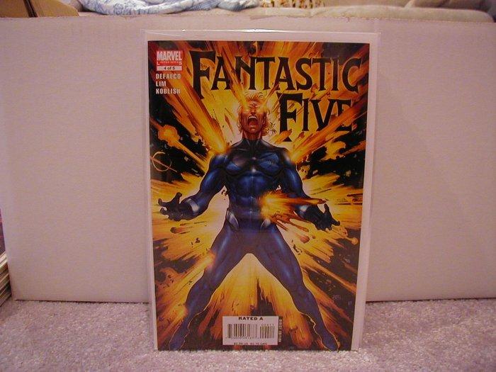 FANTASTIC FIVE #4 NM