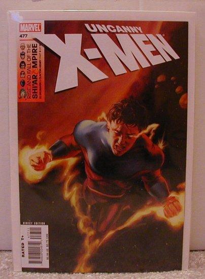 "UNCANNY X-MEN #477 NM ""VULCAN"""