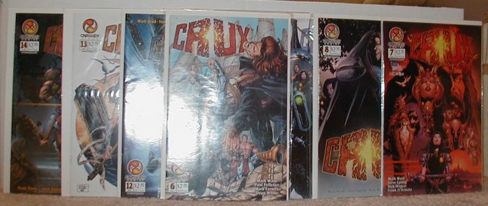CRUX(CROSSGEN COMICS)#6-14 VF/NM 8 BK LOT *FREE SHIPPING ON THIS LOT AND ANYTHING ELSE ADDED TO IT*