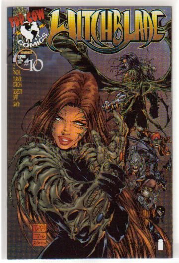 WITCHBLADE #10 VF/NM 1ST DARKNESS