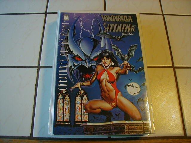 VAMPIRELLA SHADOWHAWK BOOK ONE VF OR BETTER