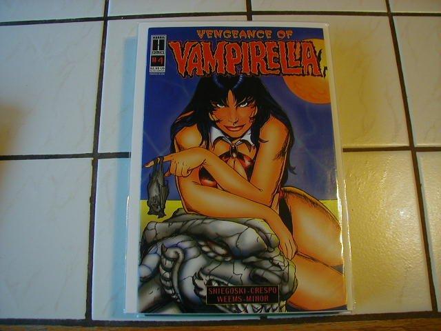 VENGEANCE OF VAMPIRELLA #4 VF