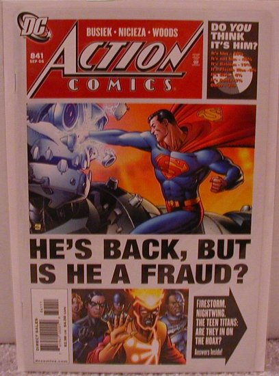 ACTION COMICS #841 NM