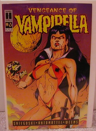 VENGEANCE OF VAMPIRELLA #3 NM