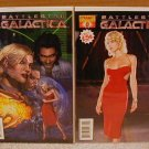 BATTLESTAR GALACTICA #0 NM SET OF BOTH COVERS