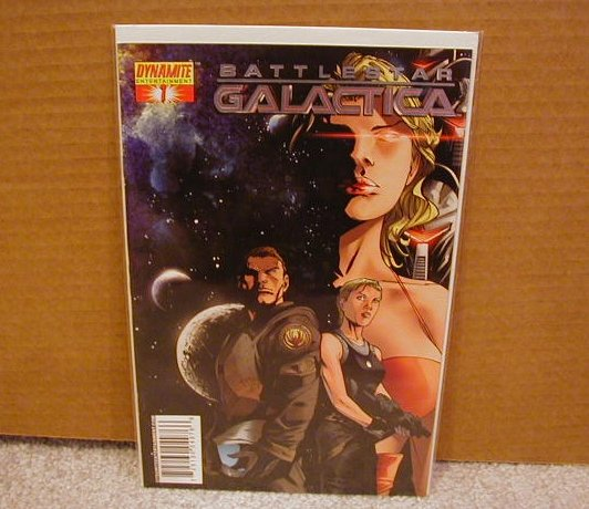 BATTLESTAR GALACTICA #1 SILVER FOIL LIMITED EDITION NM