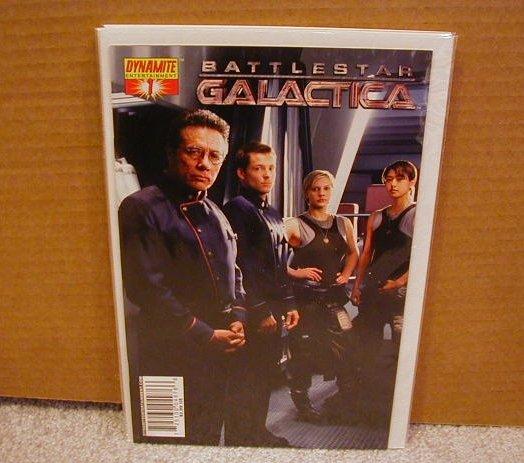 BATTLESTAR GALACTICA #1 PHOTO COVER NM