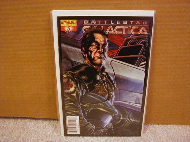"BATTLESTAR GALACTICA #3 COVER ""B"" NM"