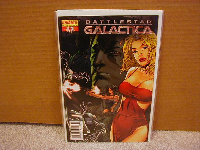 "BATTLESTAR GALACTICA #4 COVER ""A"" NM"
