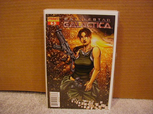 "BATTLESTAR GALACTICA #5  COVER ""A"" NM"
