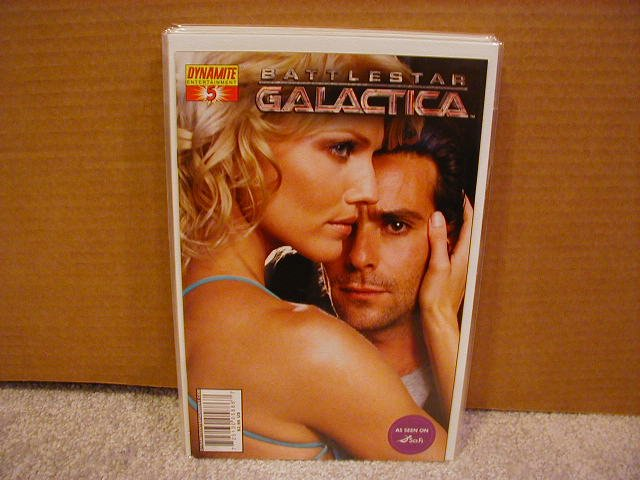 "BATTLESTAR GALACTICA #5 PHOTO COVER ""B"" NM"