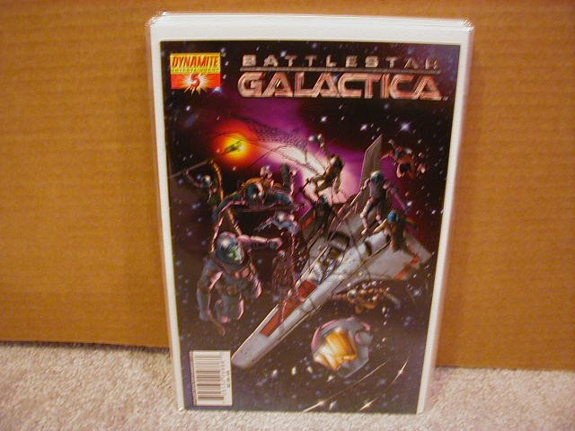 "BATTLESTAR GALACTICA #5  COVER ""C"" NM"