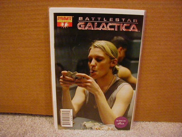 "BATTLESTAR GALACTICA #7 PHOTO COVER ""B""  NM"