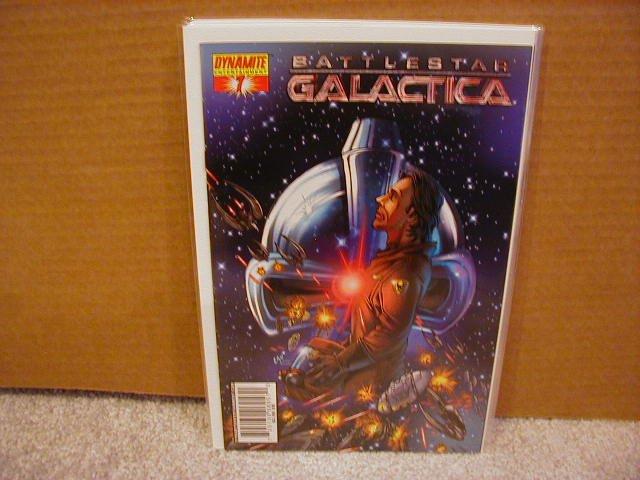"""BATTLESTAR GALACTICA #7  COVER """"D""""  NM"""