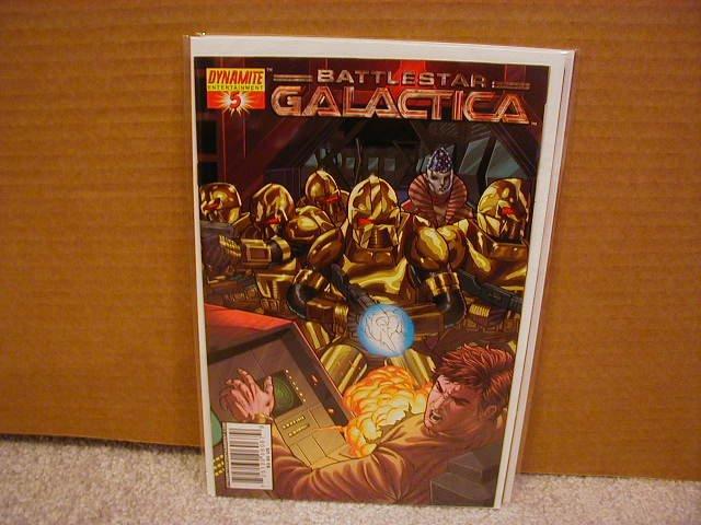 "CLASSIC BATTLESTAR GALACTICA #5 NM   ""B"" COVER"