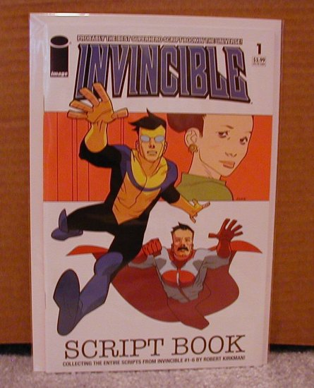 INVINCIBLE SCRIPT BOOK #1 NM