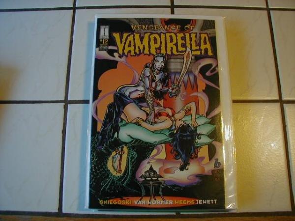 VENGEANCE OF VAMPIRELLA #12 F/VF