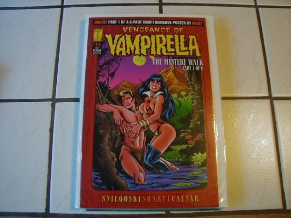 VENGEANCE OF VAMPIRELLA #14 F/VF