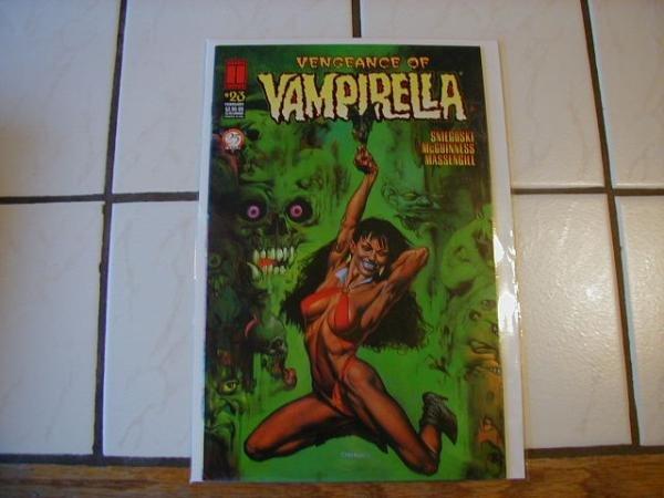 VENGEANCE OF VAMPIRELLA #23 VF/NM
