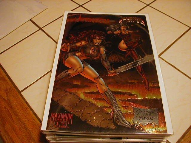 AVENGELYNE GLORY #1 CHROMIUM COVER NM