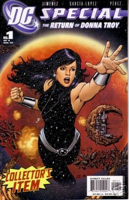 D.C. SPECIAL RETURN OF DONNA TROY SET OF ALL 4 NM