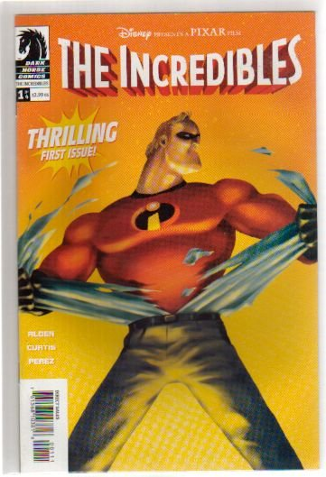 THE INCREDIBLES #1 NM