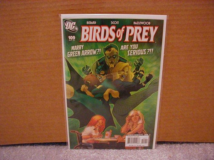 BIRDS OF PREY #109 NM
