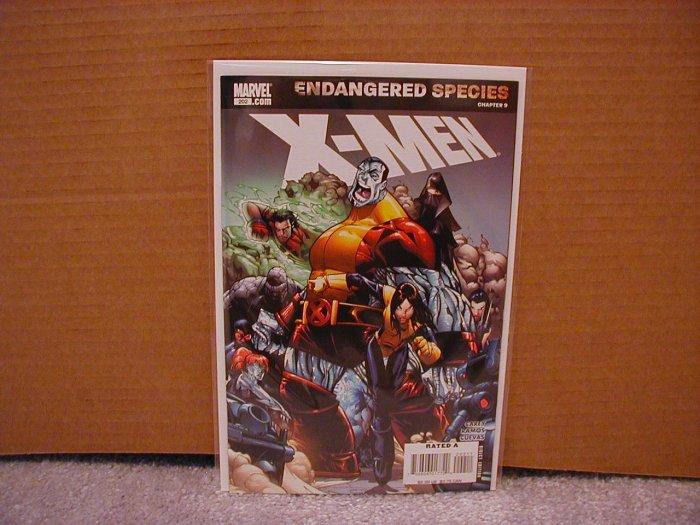 X-MEN #202 NM Endangered Species Chapter (9)