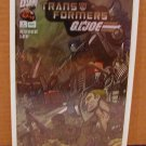 TRANSFORMERS G.I. JOE #1 FOIL COVER NM