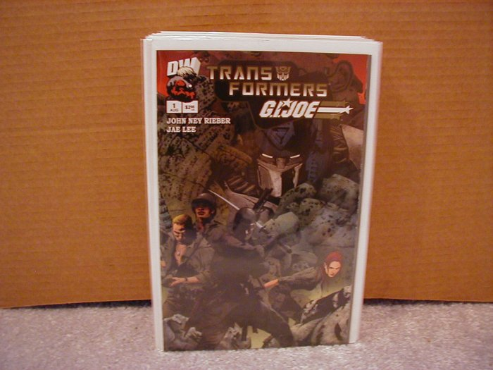 "TRANSFORMERS G.I. JOE #1 NM  ""A"" COVER"