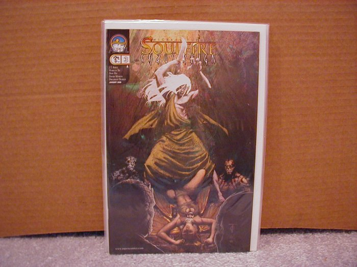 """SOULFIRE CHAOS REIGN #3 """"A"""" COVER NM"""