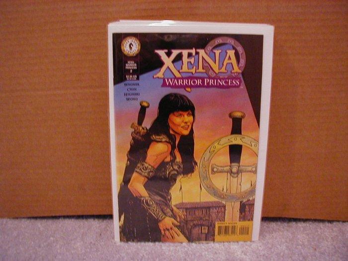 "XENA WARRIOR PRINCESS #2 NM DARK HORSE SERIES  ""B"" COVER"