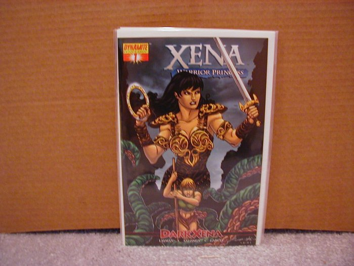 XENA WARRIOR PRINCESS #1 NM DARK XENA  DYNAMITE
