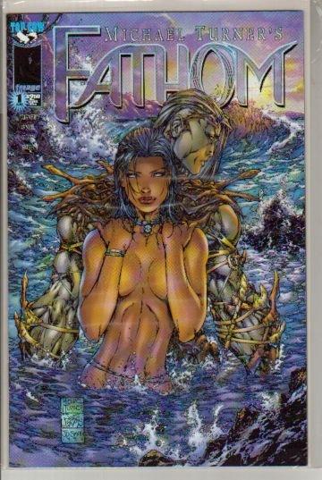 "FATHOM #1  ""A"" COVER NM  IMAGE 1ST SERIES"