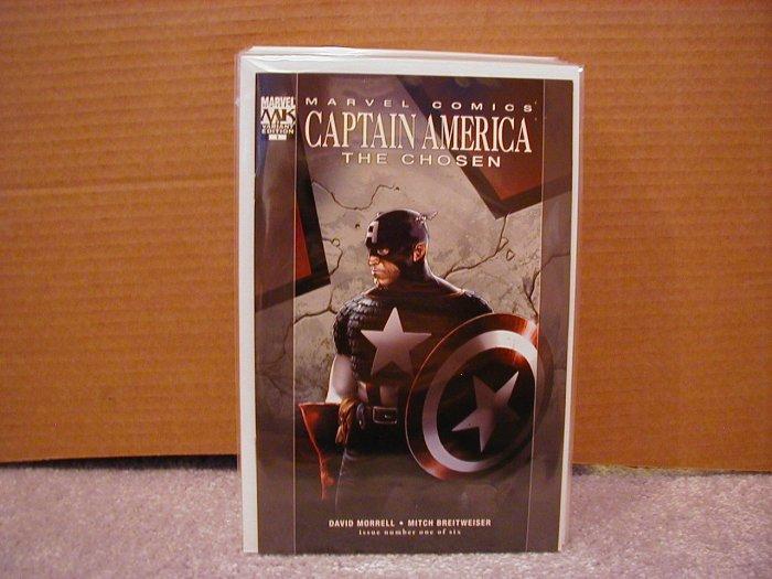 CAPTAIN AMERICA THE CHOSEN #1 NM  VARIANT 1ST PRINT COVER