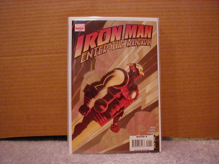 IRON MAN: ENTER THE MANDARIN #1 NM