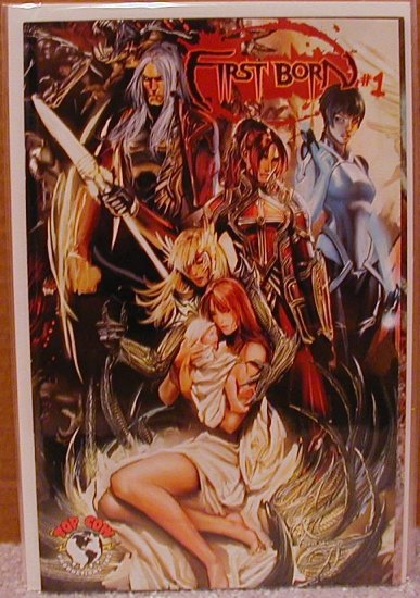 """FIRST BORN #1 NM """"B"""" COVER  WITCHBLADE!!"""