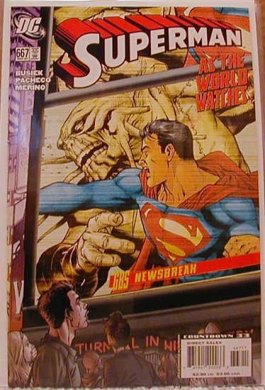 SUPERMAN #667 NM