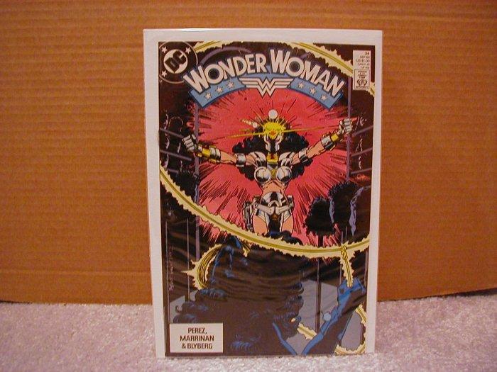 WONDER WOMAN #34 VF/NM (1987)