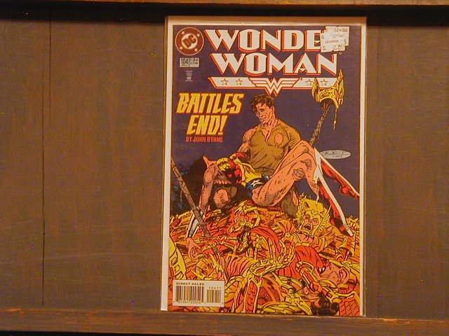 WONDER WOMAN #104 VF/NM (1987)