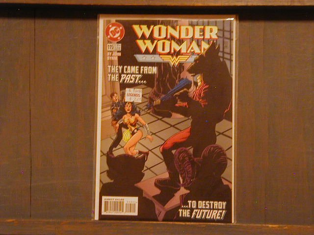 WONDER WOMAN #115 VF/NM (1987)