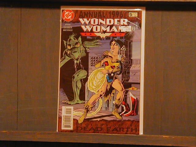 WONDER WOMAN ANNUAL #5 VF +