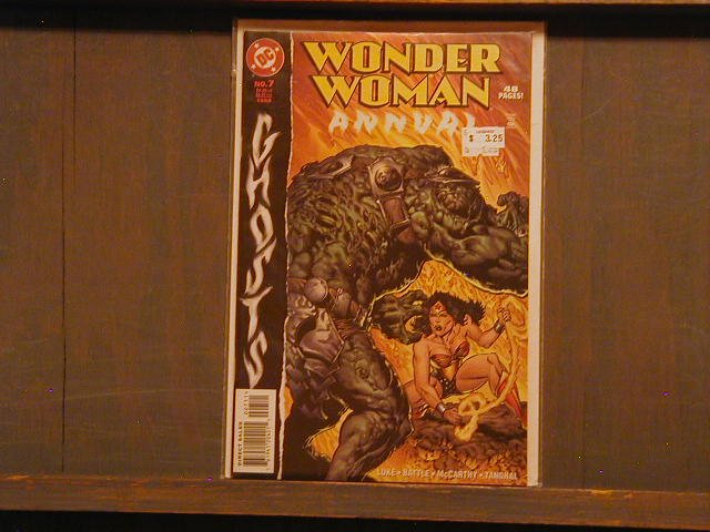 WONDER WOMAN ANNUAL #7 VF-