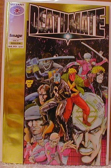 DEATHMATE YELLOW  VF/NM  IMAGE/VALIANT TEAM-UP