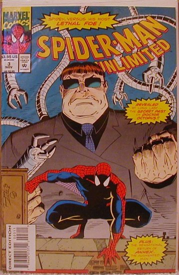 SPIDER-MAN-UNLIMITED #3 DOCTOR OCTOPUS VF/NM