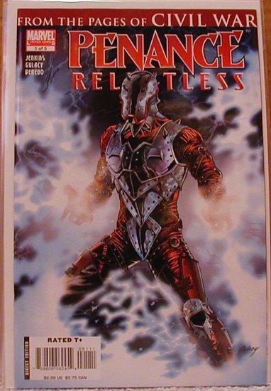 PENANCE RELENTLESS #1 NM (2007)