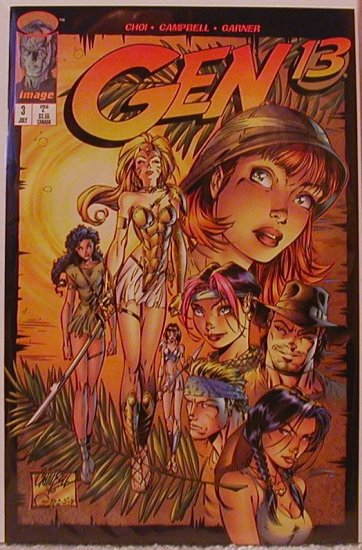 GEN 13 #3  VF/NM (1995)
