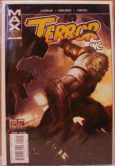 TERROR INC. #2 NM (2007)