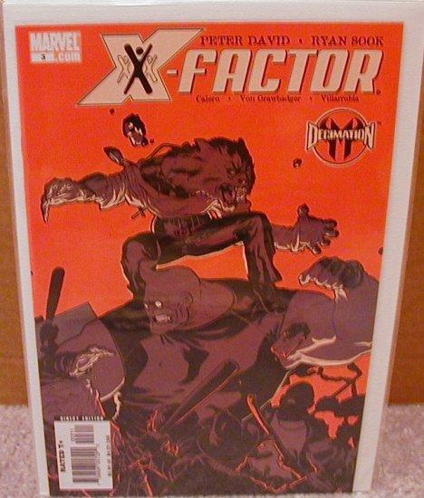 X-FACTOR #3 VF/NM (2006)