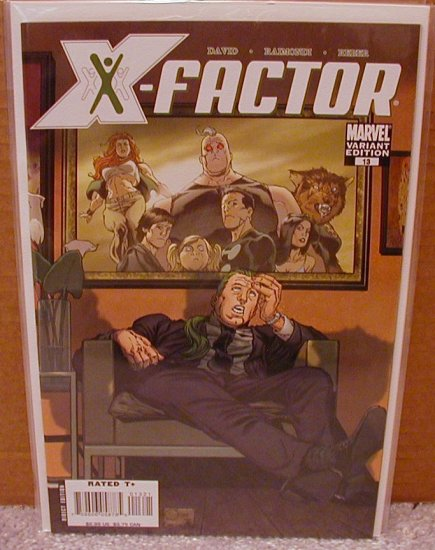 X-FACTOR #13 VARIANT COVER 1ST PRINT NM (2006)
